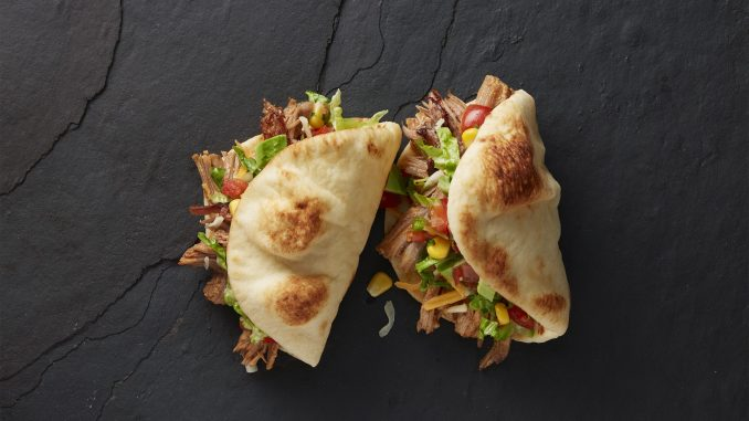 Mini Naan Folded Taco – Stonefire Authentic Flatbreads