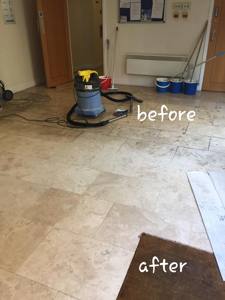 professional tile cleaning stone