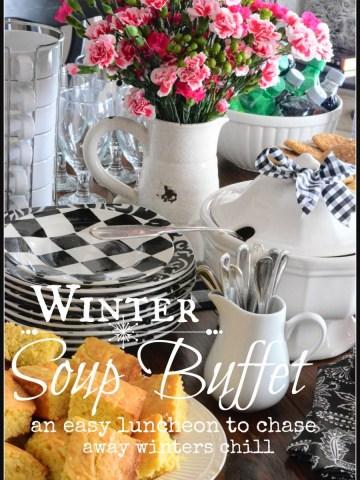 WINTER SOUP BUFFET