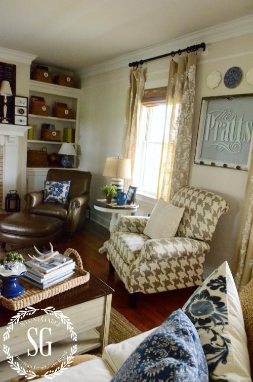 home decor-houndstooth chair-stonegablebog.com
