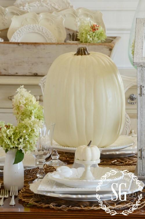 Thanksgiving Table-stonegableblog.com