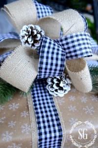 CHRISTMAS GIFT WRAPPING IDEAS - StoneGable
