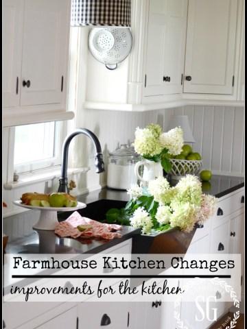 FARMHOUSE KITCHEN CHANGES