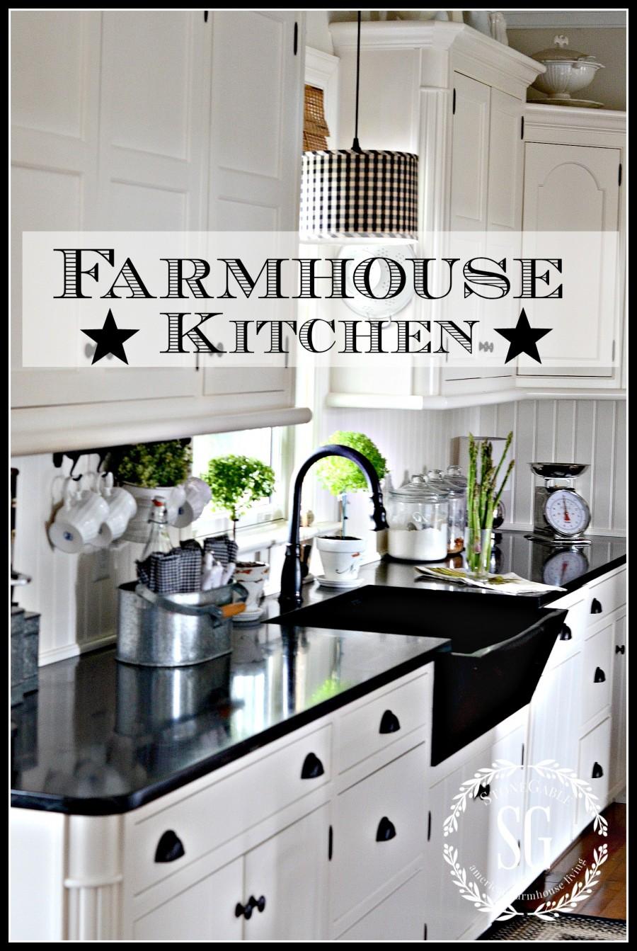 Awesome FARMHOUSE KITCHEN