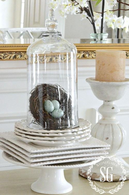 FABULOUS, FUN, FUNCTIONAL CAKE PLATES-cloches-stonegableblog.com