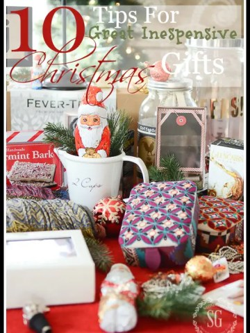 10 TIPS FOR GREAT INEXPENSIVE CHRISTMAS GIFTS