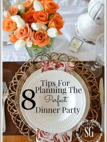 8 TIPS FOR PLANNING THE PERFECT DINNER PARTY