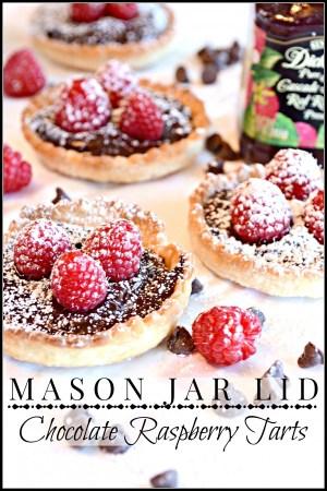 mason-jar-lid-chocolate-raspberry-tarts-so-easy-to-make-and-so-impressive-stonegableblog-com