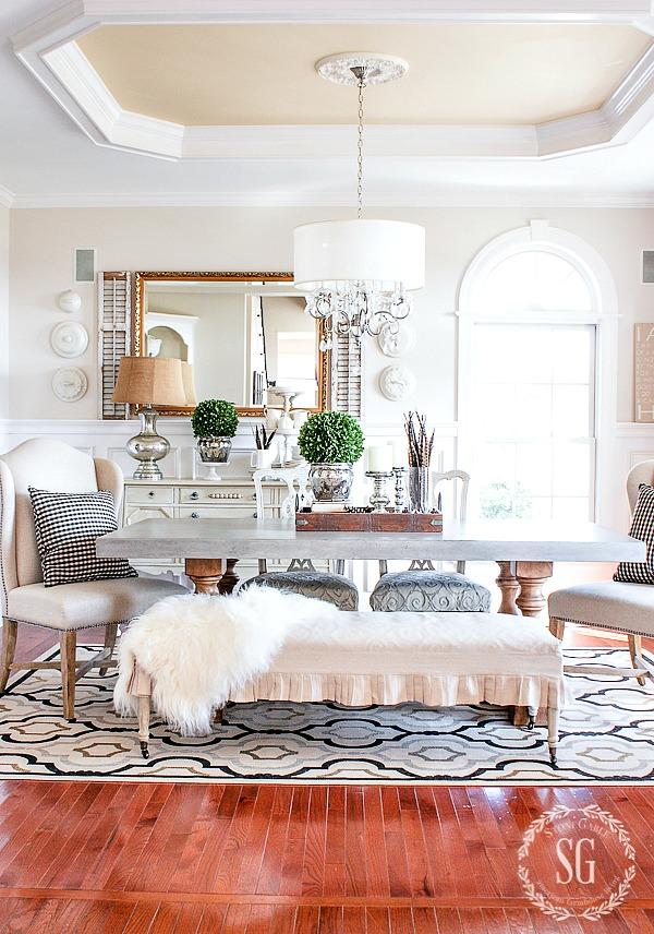 transitional dining rooms | TRANSITIONAL DINING ROOM DECOR - StoneGable