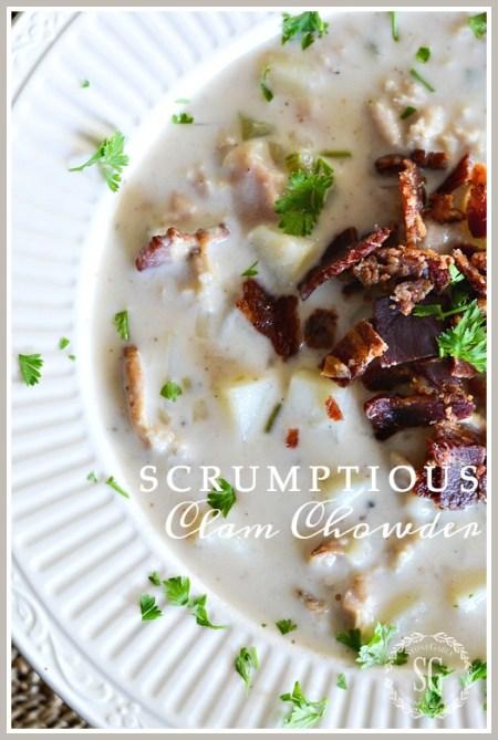 scrumptious-clam-chowder-title-page-stonegableblog-2