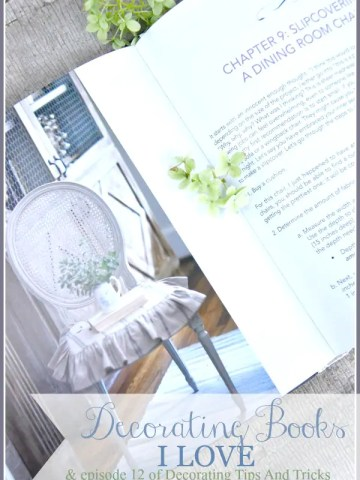 DECORATING BOOKS I LOVE AND EPISODE 12 OF DECORATING TIPS AND TRICKS