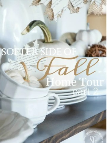 SOFTER SIDE OF FALL HOME TOUR, PART II