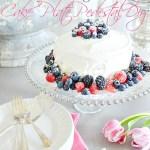 10 MINUTE BEAUTIFUL CAKE STAND