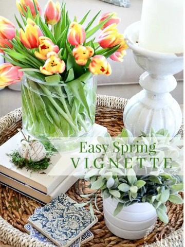CREATE AN EARLY SPRING VIGNETTE