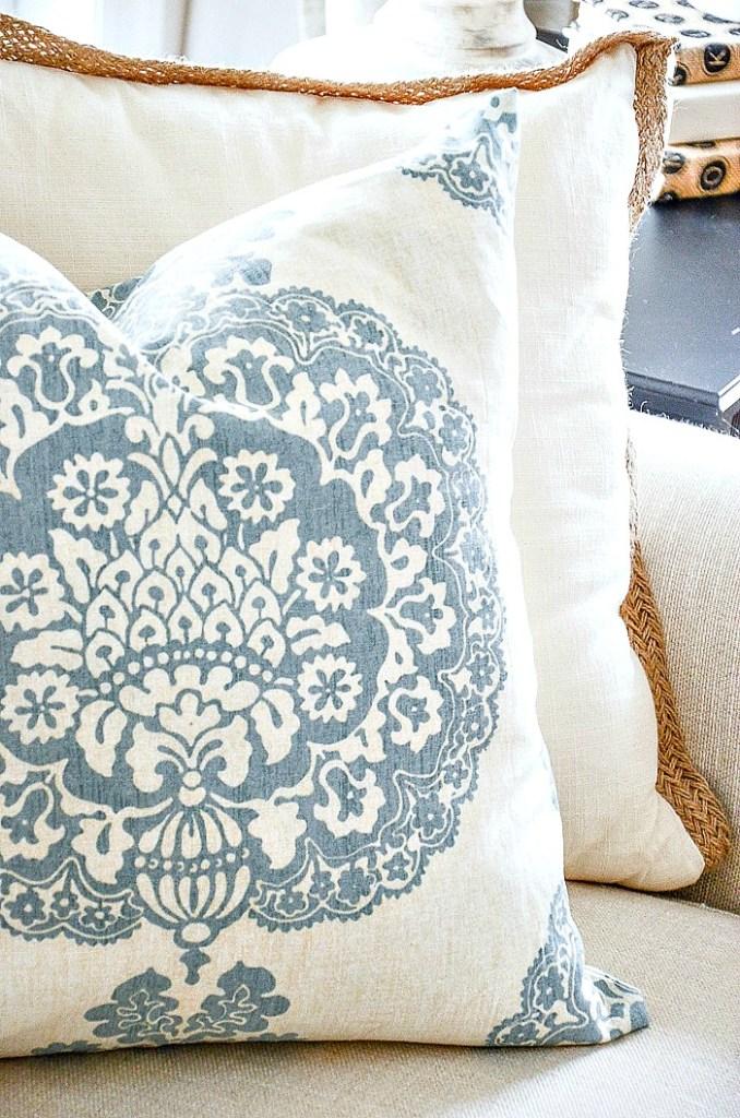 Easy No Sew Pillow Cover Stonegable