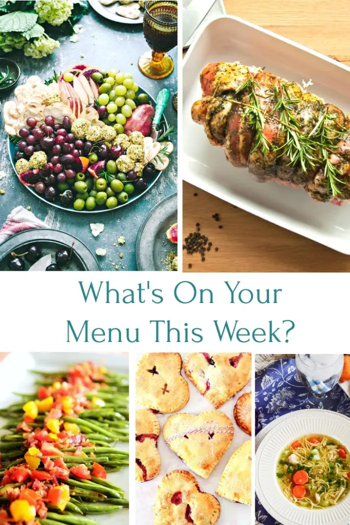 What's on your dinner menu this week? I have lots of scrumptious recipes for you to make! Have a scrumptious week!