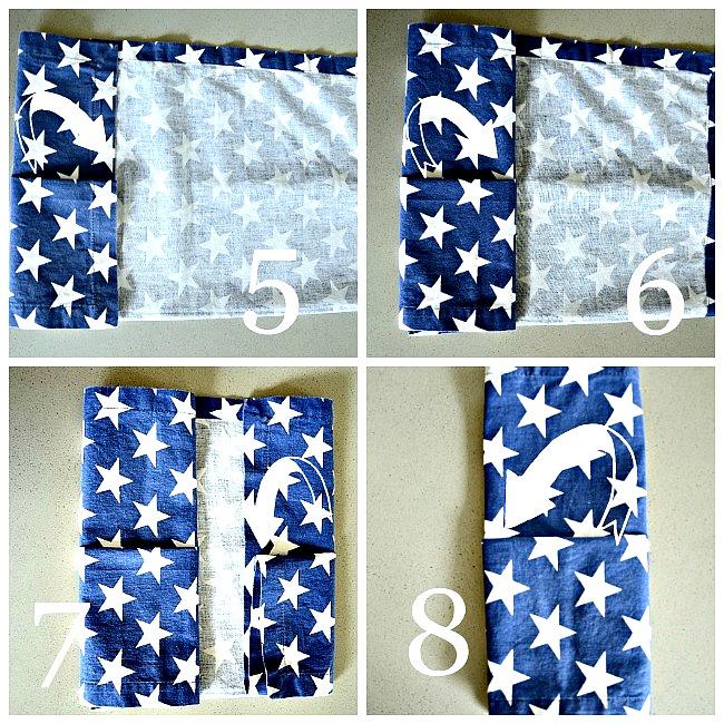 easy pocket napkin fold