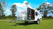 Large Teardrop Camper Trailer