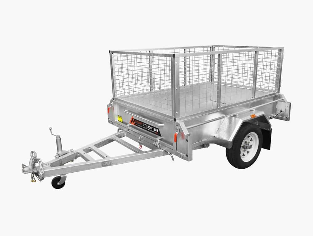 6x4 cage box trailer