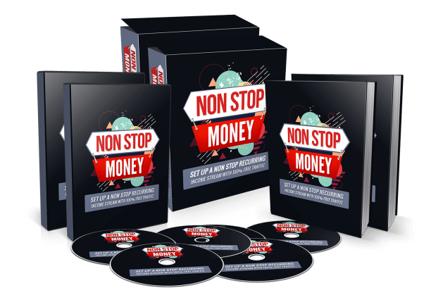 Non-Stop Money! Review – GET FREE BONUSES : Discover How To Create A NonStop Recurring Income Stream Of At Least $4,330.32 Per Month Every Single Month Within Just 48 Minutes Of Work With 3 Simple Steps And How You Can Do The Same, Using Your Competitors Traffic, And Also Tools Which Are Available Online, All 100% Free Today!