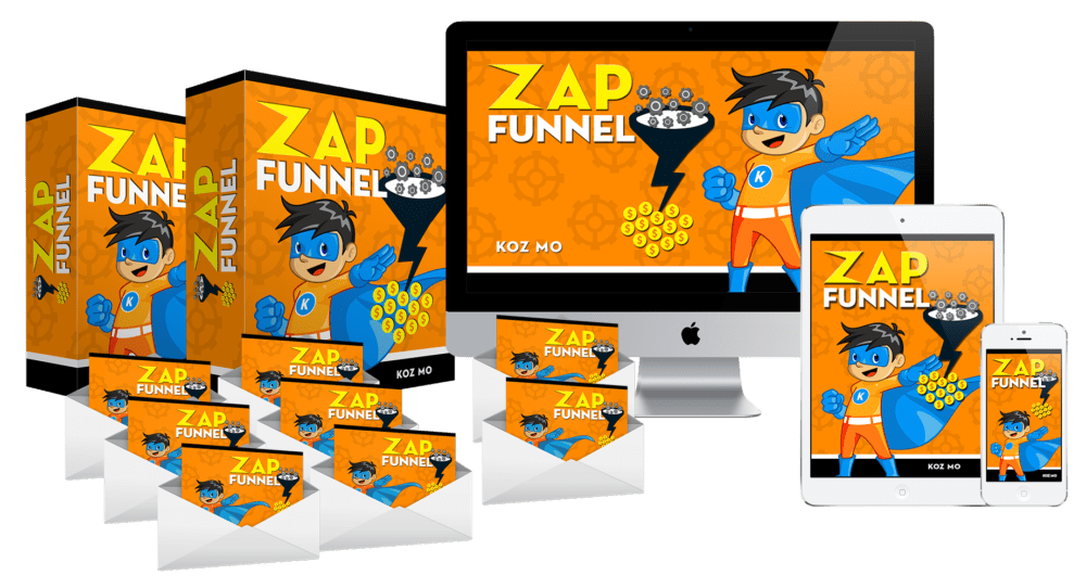 Zap Funnel – Main Package Review – GET 'FAST ACTION' BONUSES : 8 Ready-To-Go Lead Generating Systems That Generates Funnels And Start Building Your List And Make Massive Sales
