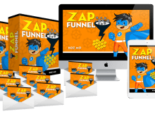 Zap Funnel - Main Package Review – GET 'FAST ACTION' BONUSES : 8 Ready-To-Go Lead Generating Systems That Generates Funnels And Start Building Your List And Make Massive Sales