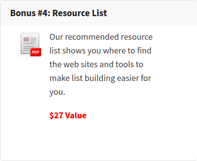 How to Build a List That Buys From You Review – GET $368.97 IN BONUSES : Discover How To Build An Email List That Buys Everything You Send Them Using Floren's Proven 77-Step Process