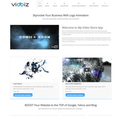 VidBiz review – FASTER, EASIER, AND MORE RELIABLE: The Revolutionary New Software App Build Your Very Own Lucrative Online Business IN 2 Minutes Or Less
