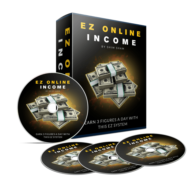 EZ Online Income Review – DOES IT REALLY WORK: Newbie-Friendly Method For Making Money Online Fast