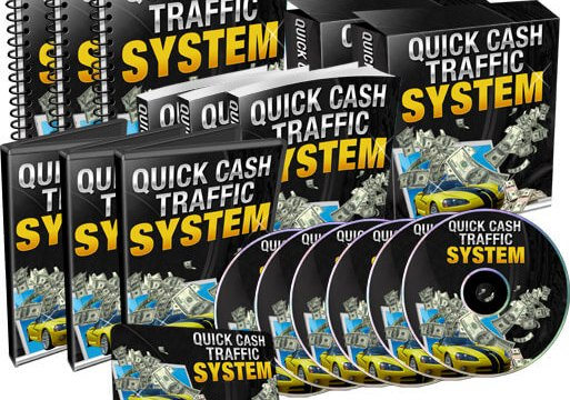 MASTER PLR: Quick Cash Traffic System Review is The Quick Cash Traffic System PLR Package