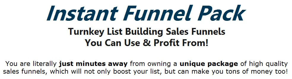 [PLR] 5 Instant List Building Sales Funnels Review – IS IT SCAM OR WORHTY? : Turnkey List Building Sales Funnels By Leon Tran That You Can Use And Profit From
