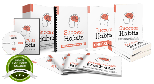 Success Habits - Done-For-You PLR Package Review – Get 100% Of The Profits Without Creating The Product
