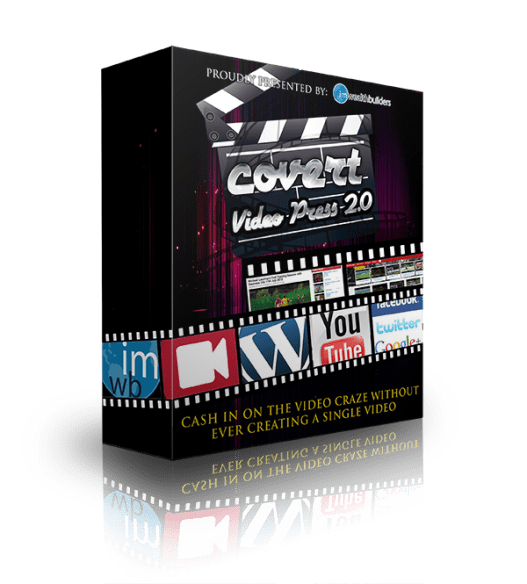 Covert Video Press 3.0 Review – SHOULD YOU TRY IT? : New Point & Click Simple WordPress Them That Transforms Your Blogs Into Your Own Profitable Viral Video Empire