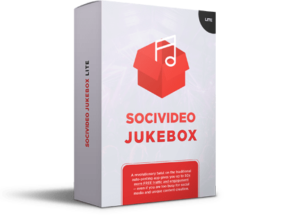 SociVideo Jukebox Pro Review – SCAM OR WORTHY? : Allows You To Create Social Media Queues That 'schedule Themselves' Smartly To Post Over And Over Again On Total Autopilot