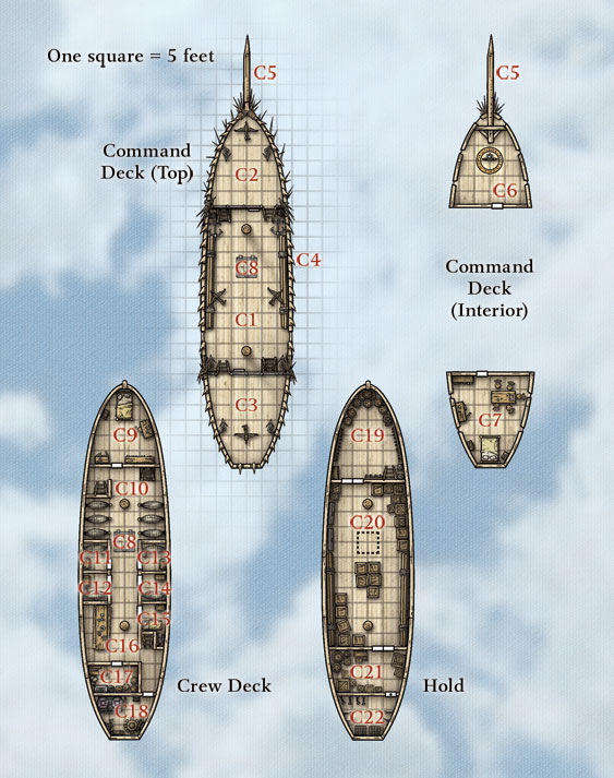 Manowar deck plan