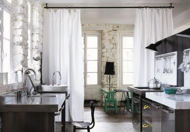 Curtain Rod Room Divider