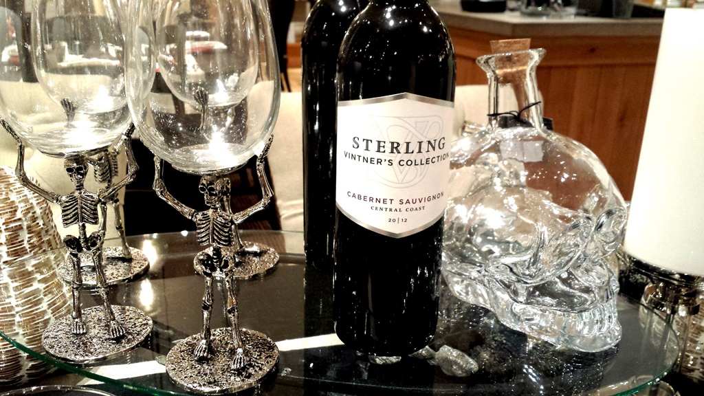 Pottery Barn  Silver and Glass Halloween 2015
