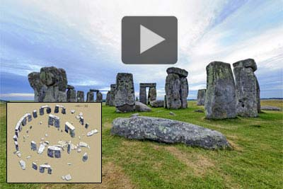 Stonehenge virtual inner circle tour.