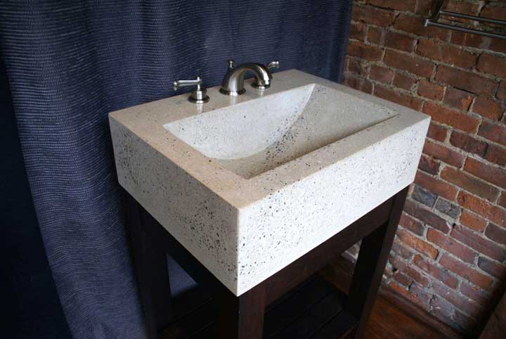 round kitchen sink high quality knives concrete bathroom countertops | master ...