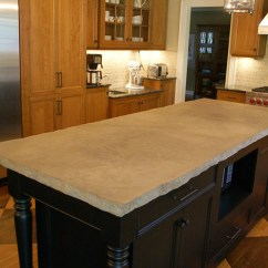 Kitchen Sink White Lights Concrete Countertop | Countertops Design ...