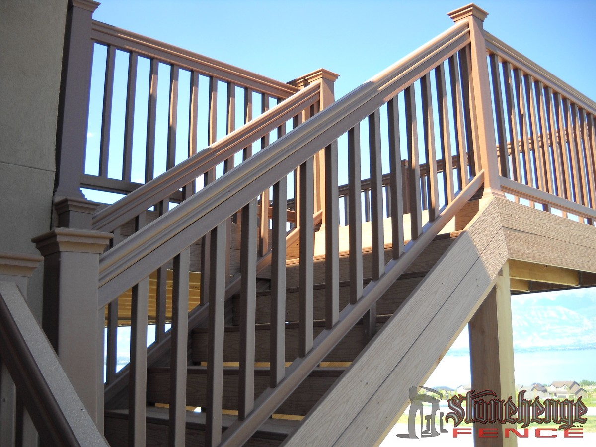 Decking Stairs O Stonehenge Fence Deck