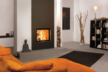 Spartherm Linear Tunnel 67x51 Built-In Wood Burning Fire