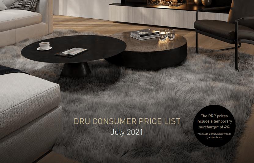 DRU Price List