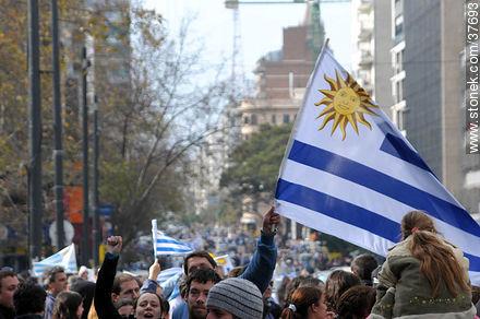 Image result for uruguay sudafrica 2010 festejos