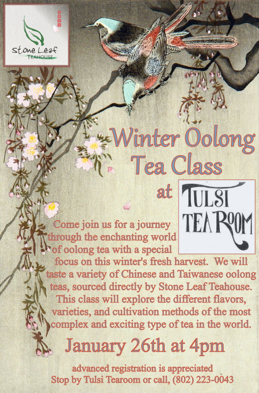 Tulsi Winter Oolong Flier