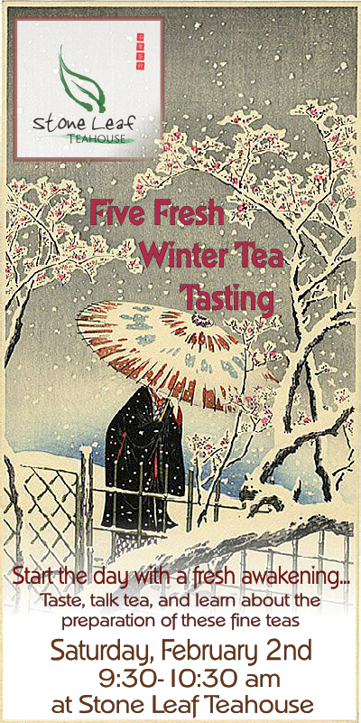 teahouse winter tasting