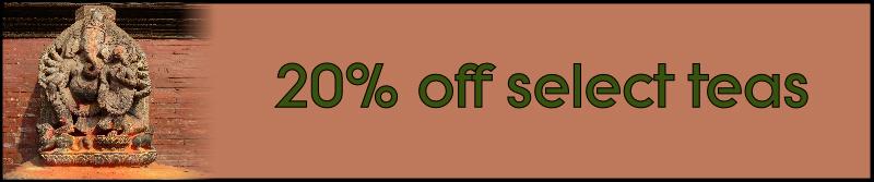 ganesh tea sale banner