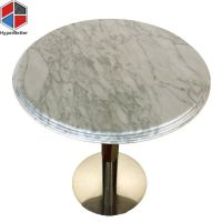 Carrara white marble stone coffee table|Directly Marble ...