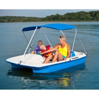 Paddle boat tour with shuttle service and no guide