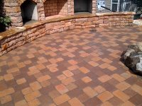 echo-village: Patio layout Charlotte Nc